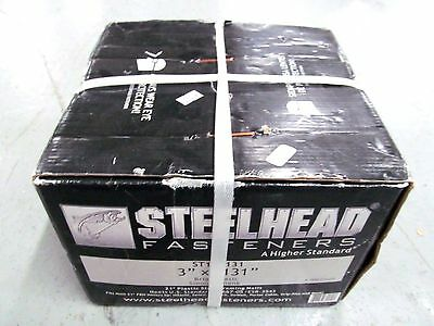 Steelhead 3 in. x .131 in. Smooth Bright Framing Nails 4000/box #ST10D131