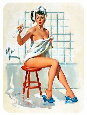 Vintage Style Pin Up Girl Sticker P70 Pinup Girl Sticker