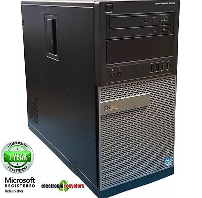Refurbished Dell OptiPlex 7010 MT 3rd Gen Intel® Core™ i5-3550 3.70Ghz 250 SSD