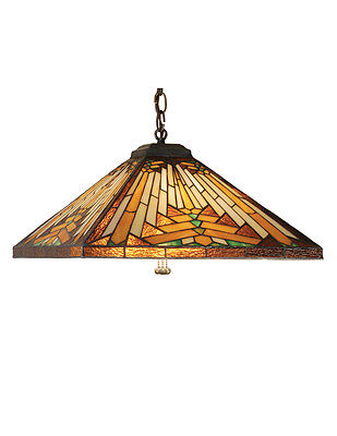 "Meyda Home Indoor Decorative Ceiling Light 17""""sq Nuevo Mission Pendant"