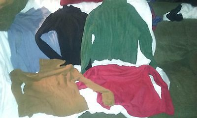 Womens Petite Turtleneck Lot