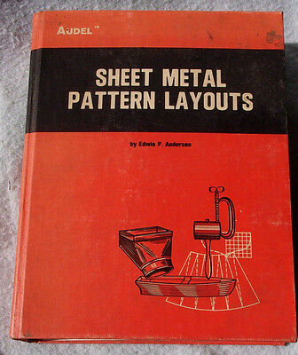 Sheet Metal Pattern Layouts Audel 1969 ALL Revisions HVAC Sheet Metal