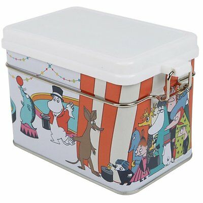 Moomin Circus Tin Box for Tea Martinex
