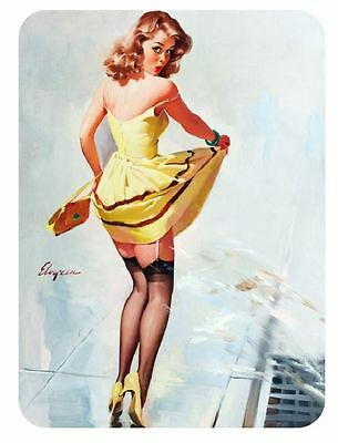 Vintage Style Pin Up Girl Sticker P117 Pinup Girl Sticker