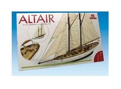 Constructo Wooden Boat Model Kit 1/67 Altair