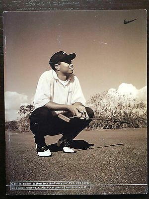 Vintage Nike Golf Footwear & Accessories Fall/Holiday 1997 Catalog Tiger Woods