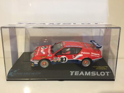 Team Slot 12801 R.Alpine A310 V6 GTP 24hr Le Mans 1977 New Release