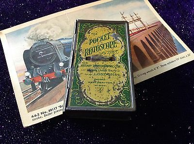 Antique Tin The Pocket Rotoscope With Cards The Rotary Photographic Co Ltd