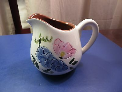 Vintage Stangl Fruit and Flowers  10 0z. pitcher / creamer Excellent Condition