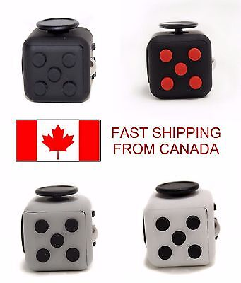 Canadian Fidget Cube To Relieve Stress, Anxiety in Children and Adults