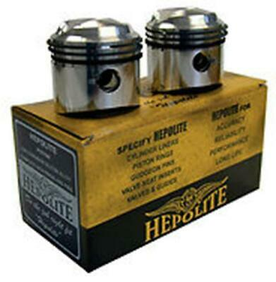 Pair Hepolite Pistons & Rings BSA A10 Gold Flash 650cc (50-62) 70mm +020 - 11062