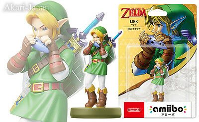 New Nintendo amiibo Link Ocarina of Time The Legend of Zelda 30th Anniversary