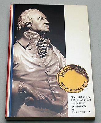 Interphil 76 International Philatelic EXHIBITION EXPO Catalogue PA Philadelphia