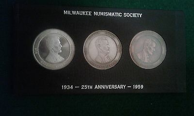 1959 milwaukee commemoritive set