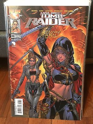 Tomb Raider #48 Ebas variant cover NM