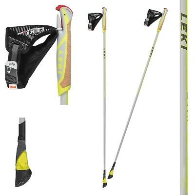 Original LEKI Smart Carbon Nordic Walking Stöcke, 1 Paar, NEU !