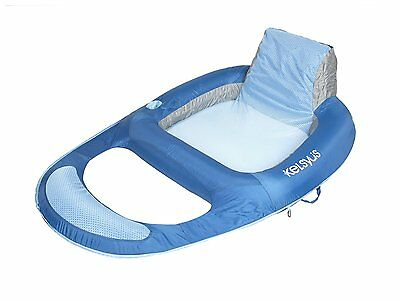 Kelsyus Floating Lounger Quality Recliner Luxury Inflatable Pool Lilo Air Bed