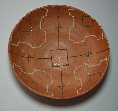 Good old rare Amazonian pottery bowl Shipibo