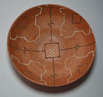 Good old rare South American Amazonian pottery bowl