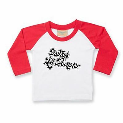 Harley Quinn T Shirt - Baby/Toddler/Kids - DADDYS / MOMMYS Lil Monster