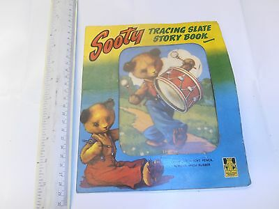 Sooty Tracing Slate Story Book.rare And Very Collectable
