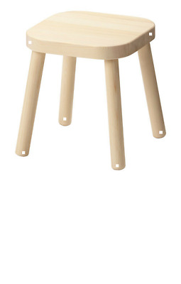 FLISAT Children's stool - IKEA - Solid pine ETC  - Brand New (no table included)