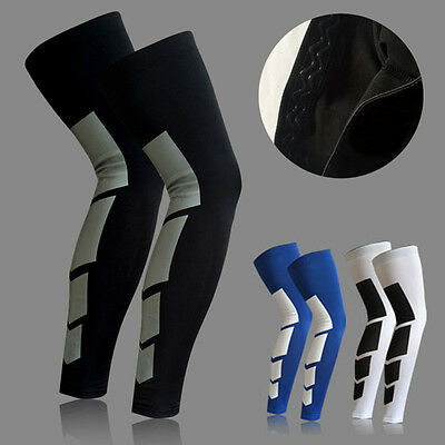 1pc Leg Compression Sleeves Basketball Knee Brace Protector Guard Sports Gear
