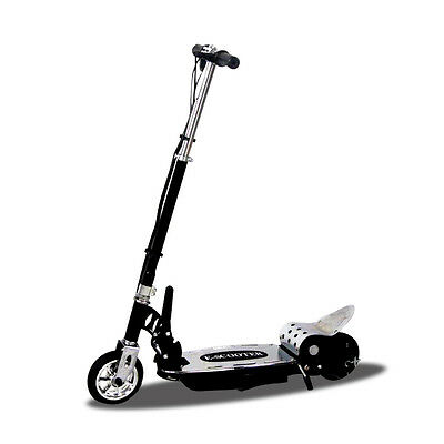 NEW Electric Scooter Adjustable Height Foldable 140W 24V Rear Brakes 15kph 20kms