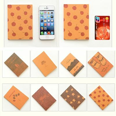 Schedule Pocket Stationery Office Sketch Notepad Book Paper Note Notebook