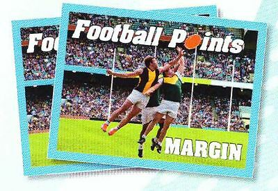 Football Points Margin fundraising tickets - 10 sets