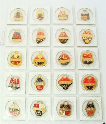 1960-91 Melbourne Cricket Club Members Badge Set, MCC, Collection, Scarce (31)