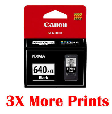Genuine Canon PG-640XXL Extra High Yield Black Ink MX396 MX436 MX456 MX526
