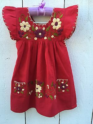 Mexican girls dresses Size 2t
