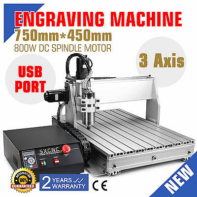 Graviermaschine 3 Achse 6040 CNC Router Printer FräSmaschine Cutter BEST PRICE