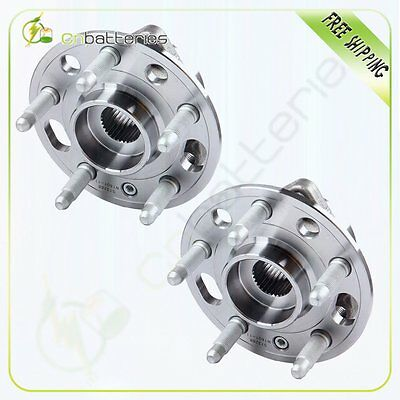 2 New Wheel Hub Bearing Front And Rear For Chevrolet Equinox Impala Malibu Buick