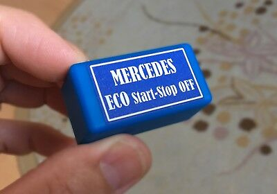 MERCEDES cars ECO start-stop OFF - just an OBD plug (most of MB cars supported)