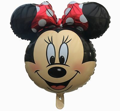 18`` Kids Minnie Mouse Theme Happy Birthday Letter Party Foil Balloons