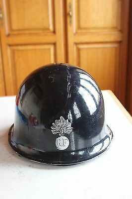 Ancien casque de gendarme mobile 1966 France