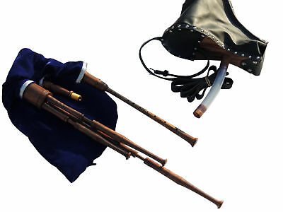 Scottish Smallpipes in Bb, Bellow Blown