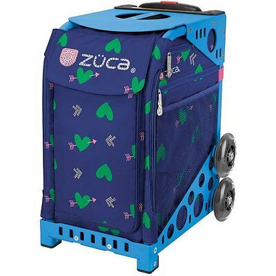 Zuca Cupid Bag with BLACK Frame- NEW - Figure skating trolley bag