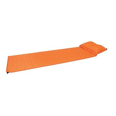 Self Inflating Mat with Pillow And Dry Sack orange Waterproof - Yellowstone