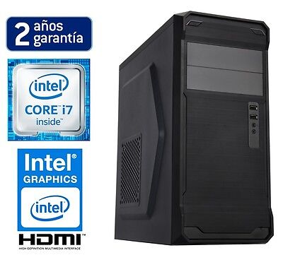PC ORDENADOR SOBREMESA INTEL CORE i7 6700 | 16GB RAM | 1TB HDD | ASUS | HDMI NUE