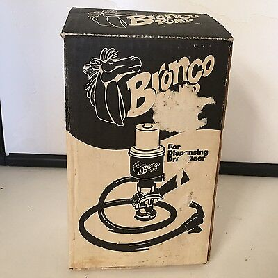 Bronco Hand Pump for Dispensing Draft Beer Lightly Used Excellent Condition