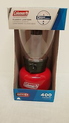Coleman CPX 6 Classic 400 Lumen LED Hanging Lantern Lamp For Camping Outdoors