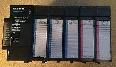 GE Fanuc Series 90-30 Power Supply Programmable Controller 5 Slot
