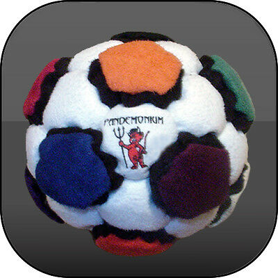 PROMETHEUS FOOTBAG RARE 44 PANEL PELLETS IRON Hacky sack