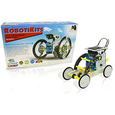 OWI 14-in-1 Solar Robot Electronics Electricity Science Nature Educational Toys
