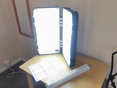 Britebox High Powered Light box for SAD light therapy lamp, spare bulb, RRP £200