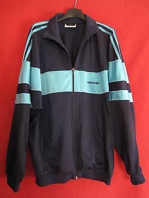 Veste Adidas 90'S Vintage Made in Singapore Homme Marine - 180 / L