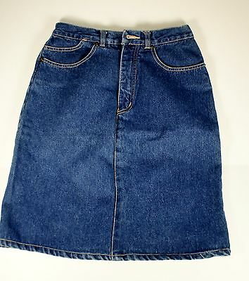 VINTAGE COCA COLA DENIM SKIRT Size 10